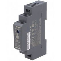 Alimentation Rail Din 12 V 1,25 A - Mean Well - MEANWELL