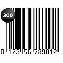 300 Code Barre EAN-13