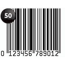 50 Code Barre EAN-13