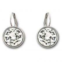 Swarovski Rhodium White Crystal Bella Earrings