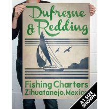 Dufresne & Redding Fishing Charters Oversize Art Print