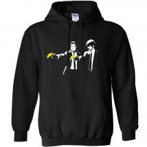 Banksy Hoodie - Pulp Fiction Bananas