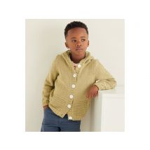 Boy's Hooded Jacket in Sirdar Snuggly Replay DK (2547S)