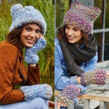 Hats & Mittens in Stylecraft Swift Knit Mega (9467)