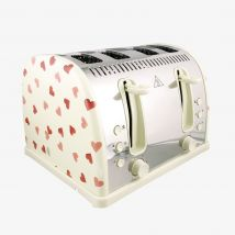 Emma Bridgewater  Russell Hobbs Pink Hearts Norfolk Four Slice Toaster