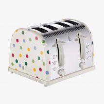 Emma Bridgewater  Russell Hobbs Polka Dot 4 Slice Toaster