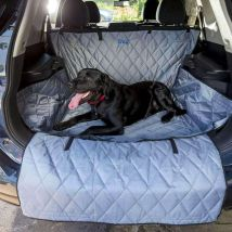 Dog Car Boot Cover With Bumper Protector SUV