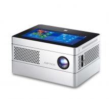Aiptek iBeamBlock L400 Deluxe Ultimate Stackable Computing Projection System - Silver