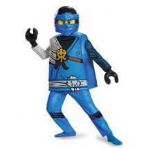 Hochwertiges Lego -Kostüm von Jay Ninjago