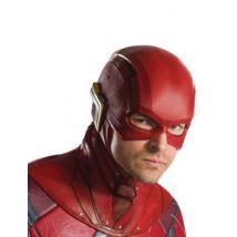 The Flash -Halbmaske Kostümzubehör für Erwachsene rot-gold