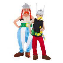 Asterix und Obelix Paarkostüm für Kinder