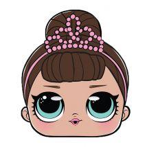 LOL Surprise -Maske Fancy für Mädchen bunt
