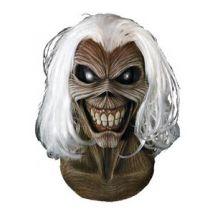 Iron Maiden -Horrormaske Eddie für Erwachsene braun-schwarz-weiss