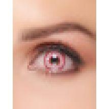 Lentillas fantasía ojo inyectado de sangre adulto Halloween