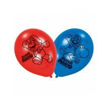 6 Palloncini Lattice Super Mario