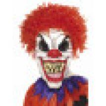 Maschera spaventosa da clown Halloween