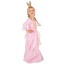 Costume da principessa con corona bambina