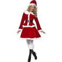 Costume chic Mamma Natale per donna