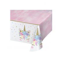 Tovaglia di plastica unicorno fatato