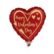Mini palloncino cuore rosso San Valentino