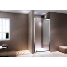 Paroi porte de douche en niche NANO verre véritable EX306 - verre tra
