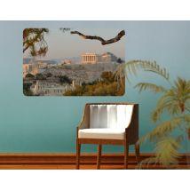 Selbstklebendes Wandbild Akropolis