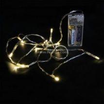 Guirlande lumineuse 1 m Blanc chaud 10 LED