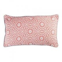 Coussin rectangulaire Tunis Orange corail
