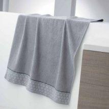 Serviette de bain (90 x 150 cm) Adelie Grise