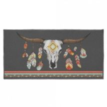 Tapis multi-usage (115 cm) Indian Folk Multicolore