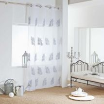 Vitrage (140 x 240 cm) Efira Grijs