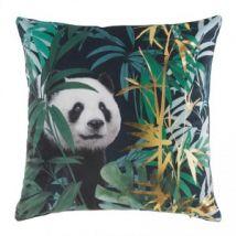 Coussin velours (45 cm) Pandaline Vert