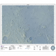 The Moon: 50th Anniversary Edition Map
