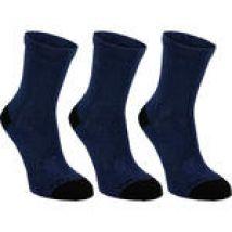 Artengo Hoge tennissokken voor kinderen RS 160 marineblauw 3 paar
