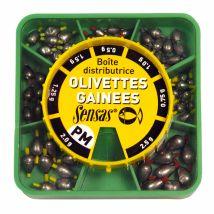 Sensas - Boite Distributrice Pêche Au Coup Olivettes Gainees Pm - Taille unique