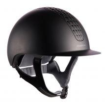 Fouganza - Casque Équitation 520 Noir Mat - L/59cm