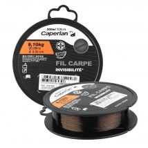 Caperlan - Fil Pêche De La Carpe Line Dark Brown 1000 M - 40/100