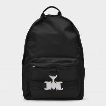 Tricon Backpack in Black Nylon