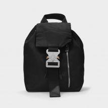 Tank Backpack in Black Nylon