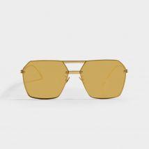 Bv1045S Sunglasses in Gold Metal