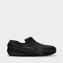 Mono Slip On Sneakers in Black Polyester