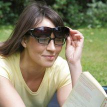 Grey  - Polarised - Over-Glasses