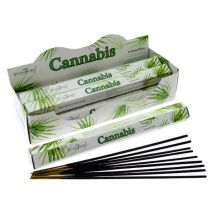 Cannabis (Pack Of 6) Stamford Hex Incense Sticks
