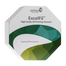 Voltivo ExcelFil - High grade 3D Printing Filament - ABS -3mm - Clear