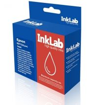 InkLab 712 Epson Compatible Cyan Replacement Ink