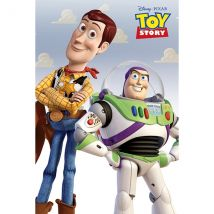 Toy Story - Woody & Buzz Maxi Poster
