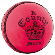 Readers County Crown Cricket Ball Pink - Mens