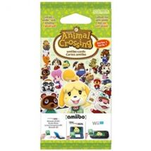 Animal Crossing Amiibo Cards (3 Cards 1 Pack)