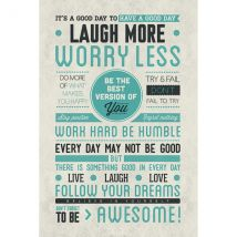 Be Awesome Maxi Poster