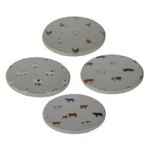 Willow Farm Set of 4 Coasters